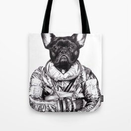 Astro Frog Tote Bag