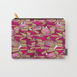 Book Collection in Pink Carry-All Pouch