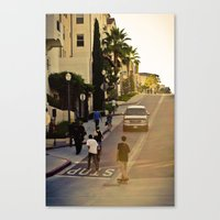 skate Canvas Prints featuring skate. by Andre Elliott