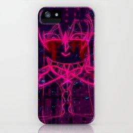 Infinity Glitch iPhone Case