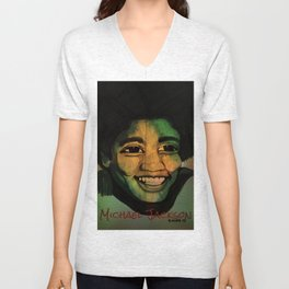 I'll Be There Unisex V-Neck