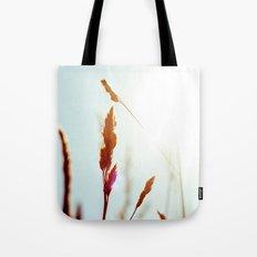 Nature Blue Reeds Tote Bag
