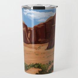 Desert Landscape Travel Mug