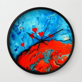Germinating Love Wall Clock