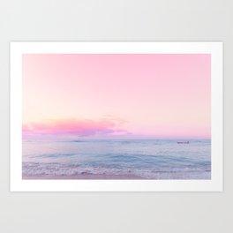 tropico ver.pink Art Print