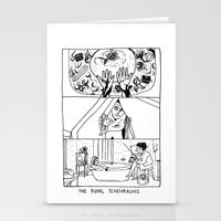 tenenbaums Stationery Cards featuring The Royal Tenenbaums by La Tia Pereques