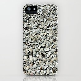Oyster shells - minimalist photography | St. Michaels, MD iPhone Case