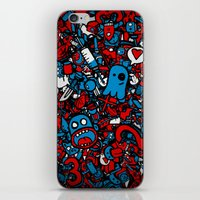 sketch iPhone & iPod Skins featuring Sketch by Mikhail St-Denis