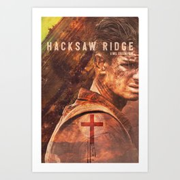 Hacksaw Ridge - Alternate Poster - 2017 Art Print