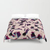 matisse Duvet Covers featuring DRUNK by RUEI