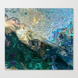 Sea Nymph Abstract Canvas Print