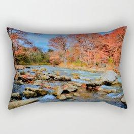 Guadalupe River, TX Rectangular Pillow