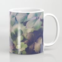 clover Mugs featuring Clover by Juste Pixx Photography
