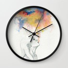 Dare to Unravel Wall Clock