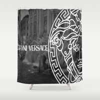 versace Shower Curtains featuring versace 3 by Beauti Asylum