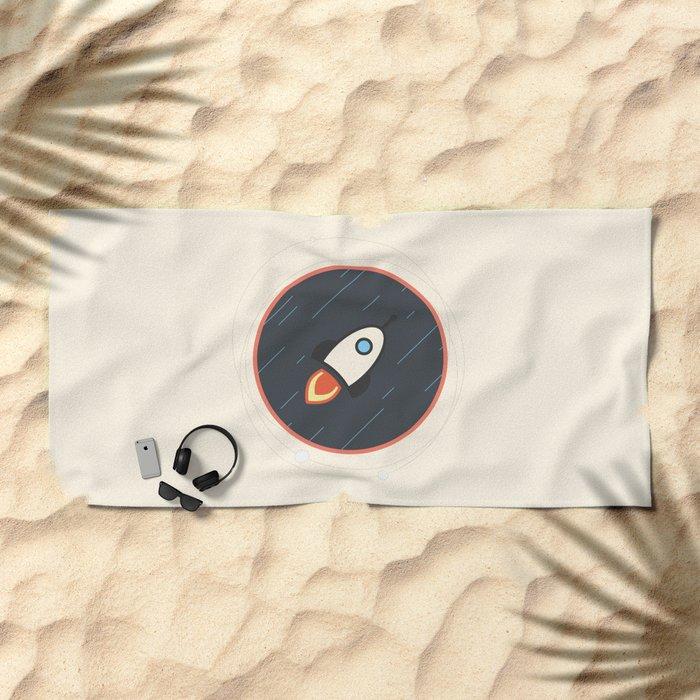 Rocket Beach Towel