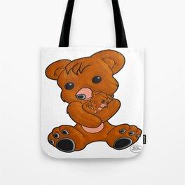 Teddy's Love Tote Bag