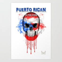 To The Core Collection: Puerto Rico Art Print