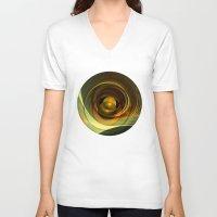 infinity V-neck T-shirts featuring Infinity by Klara Acel