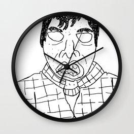 Douche Face Wall Clock