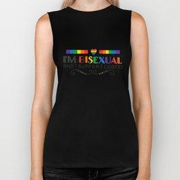 I'm Bisexual And I Support LGBTIQ Biker Tank