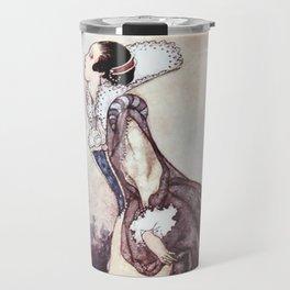 """Some Glory In Their Birth"" Fairy Art by Charles Robinson Travel Mug"