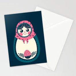 Nesting Doll Stationery Cards