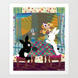"""L'ile des Desirs Perdus"" (from Hundertwasser) Art Print"