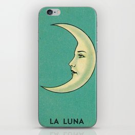 La Luna Card iPhone Skin