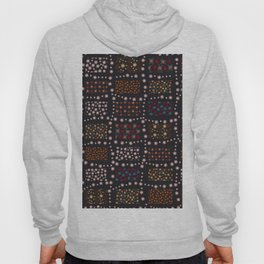 481-Doodle simple colorful ditsy floral pattern Hoody