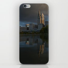 Moody Reflections iPhone Skin