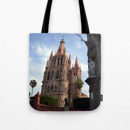 church san Miguel de allende Tote Bag
