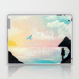 I Make Myself Stand - THG Laptop & iPad Skin