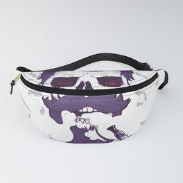 Vape Skull Design Fanny Pack