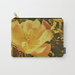Vintage Climbing Roses Carry-All Pouch