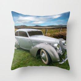 Talbot Darracq Throw Pillow