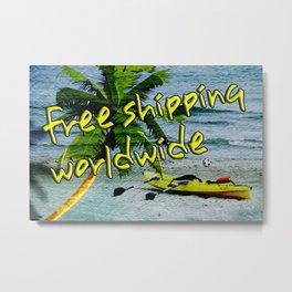 Free shippping Metal Print