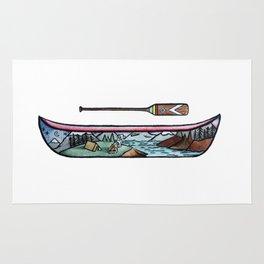 Scenic Canoe Rug