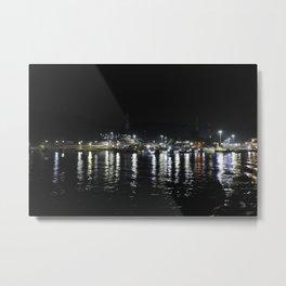 Sea Port Metal Print