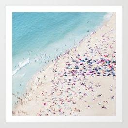 beach - summer love Art Print