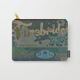 SRC Preparations Firebridge Tires Vintage Poster No1 Carry-All Pouch