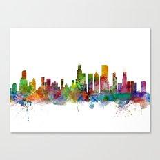 Chicago Illinois Skyline Canvas Print