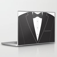suit Laptop & iPad Skins featuring Suit  by Sally Elizabeth