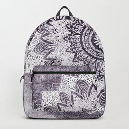 BOHOCHIC MANDALA IN PURPLE Backpack