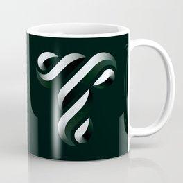 Letter T Coffee Mug