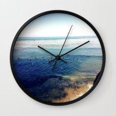 the hook Wall Clock