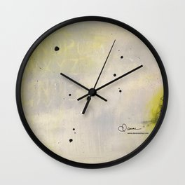Scattered Energy Wall Clock