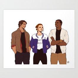 Resistance Trio - Modern Art Print