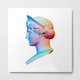 Head from The Barberini Hera Metal Print