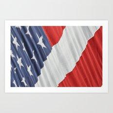 9/11 Flag  Art Print